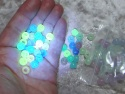Magiske UV Perler - Selvlysende og i mange farver