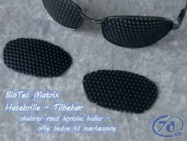 Koniske hulbrille okularer til BioTec Matrix - og andre brillestel