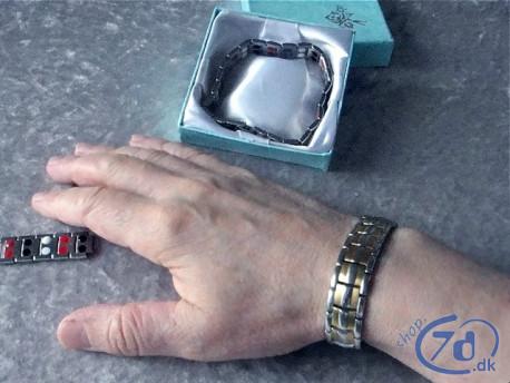 Multi helse & energi armbåndet - Dobbelt magnetfelt og bioenergi terapi