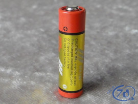 Berömda 12 Volt rundt batteri 27A LR27 HB-21