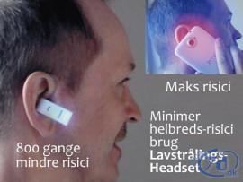 Lavstrålings Headset -...