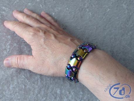 Magnetisk hæmatit helse & energi armbånd