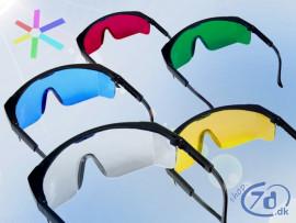 Sikkerhedsbriller - Kendt justerbart model
