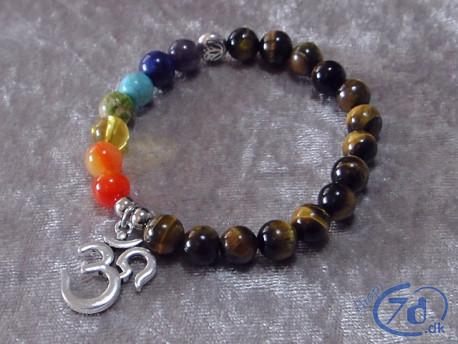 Chakra AUM Armbånd - Inspiration til spirituel praksis