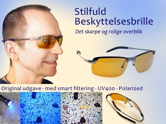 Stilfuld Beskyttelsesbrille - Perfekt ved UV inspektion, ravjagt, modlys...