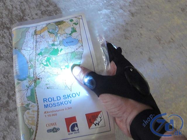 GloveLite handskelygten - Altid lys ved hånden - Klar til brug
