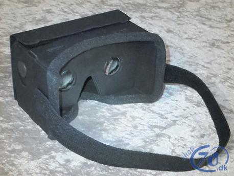 Luksus Cardboard VR briller - Virtual Reality på mobiltelefonen
