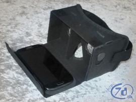 Luksus cardboard VR - Virtual Reality på mobiltelefon