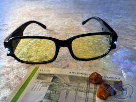 NærInspektions Beskyttelsesbrille - UV filtrering ved antik- og ravjagt...
