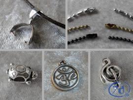 Kæder - snører - smykkevedhæng