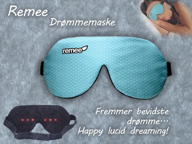 Remee Drømmemaske - Bevidste drømme - Lucid dreaming - Intropris