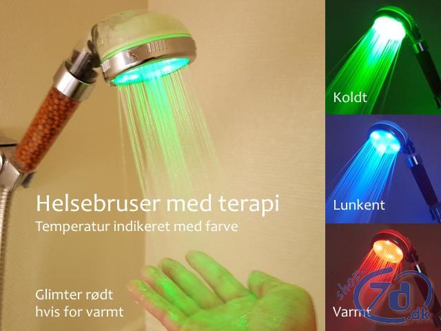 Helsebruser med ion terapi og farver