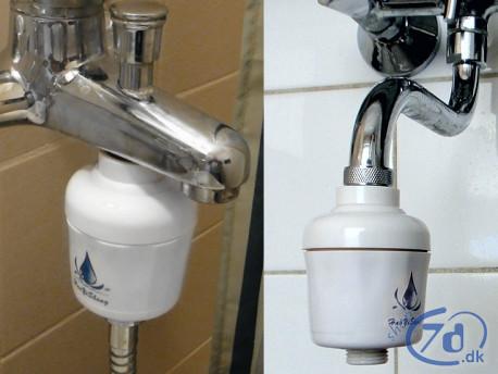 Indsatsfilter for badevand og drikkevand - Lige til at skrue på
