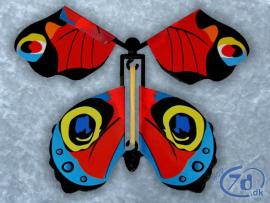 Flyvende sommerfugl - En...