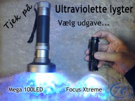 Ravlygte - UV lygte - For...