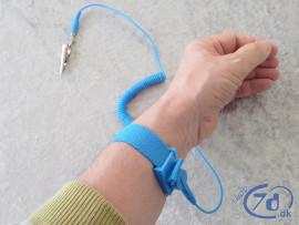 Antistatisk armbånd