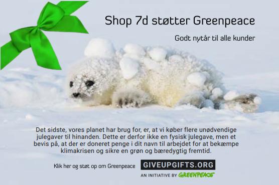 støt greenpeace